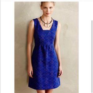 Blue Dress   Anthropologie